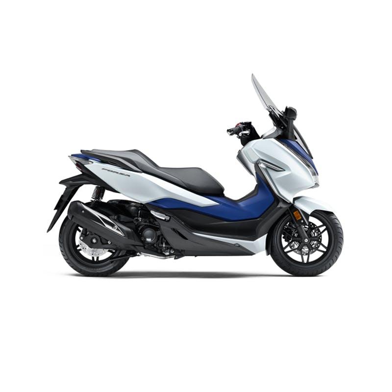 Honda Forza 300 in horizon white colour