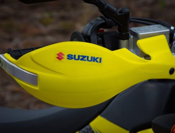SUZUKI DR-Z400E hand guards