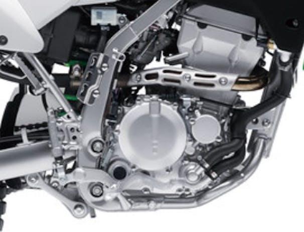 Kawasaki KLX250S engine