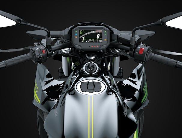 Kawasaki Z650L handlebars