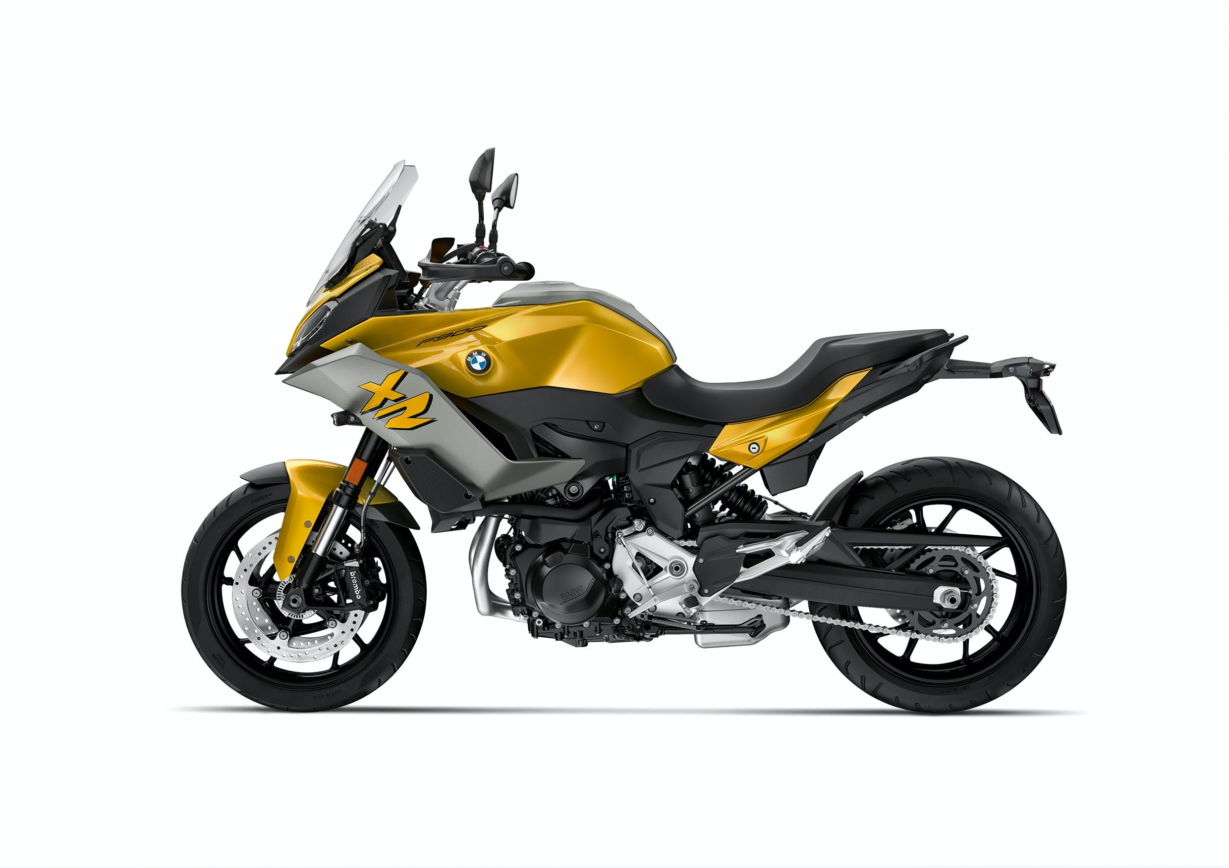BMW F 900 XR in Exclusive Style - Galvanic Gold Metallic colour