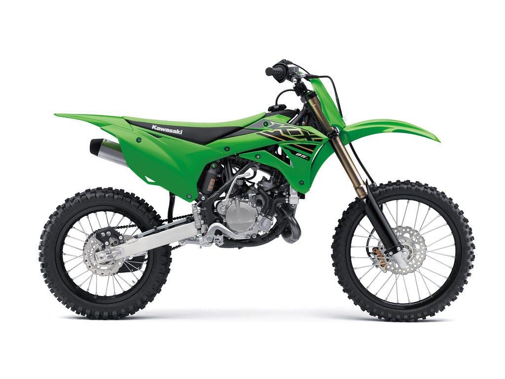 KAWASAKI KX85-II in lime green colour