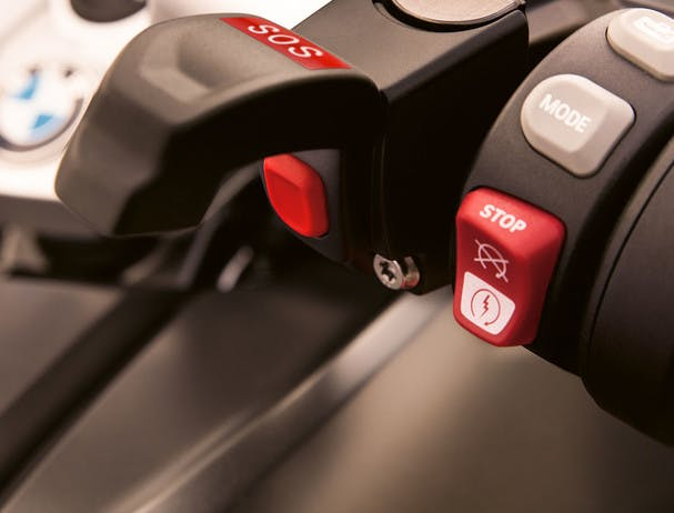 BMW R 1250 RS EXCLUSIVE ECALL switch