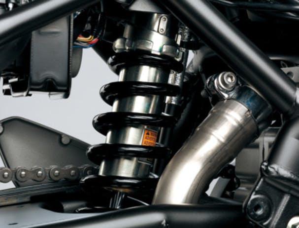 SUZUKI SV650 LEARNER APPROVED rear suspension