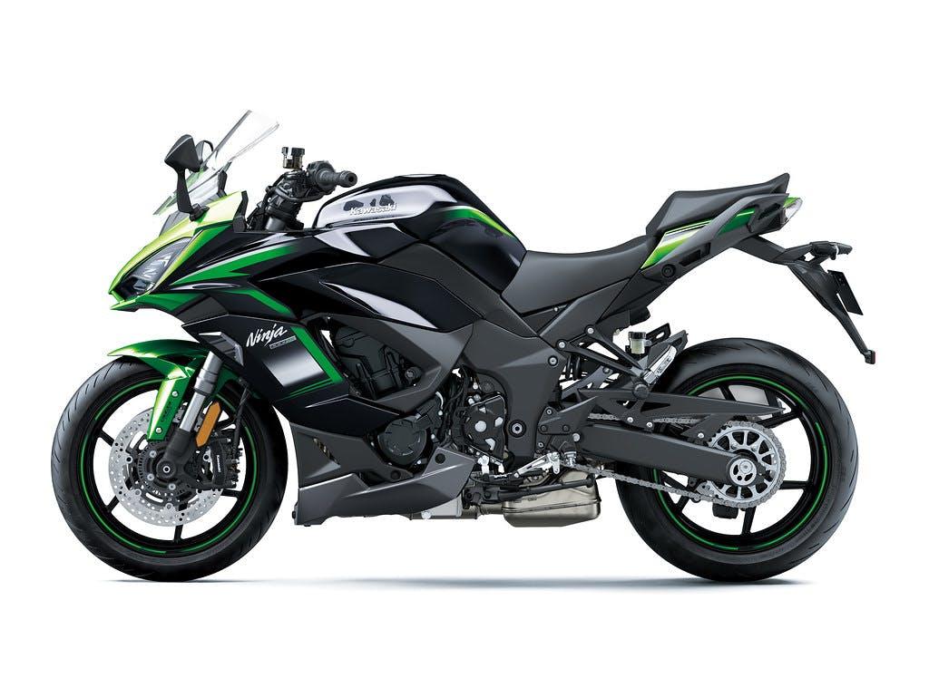 Kawasaki Ninja 1000SX (SE) in Emerald Blazed Green with Metallic Diablo Black and Metallic Flat Spark Black colour