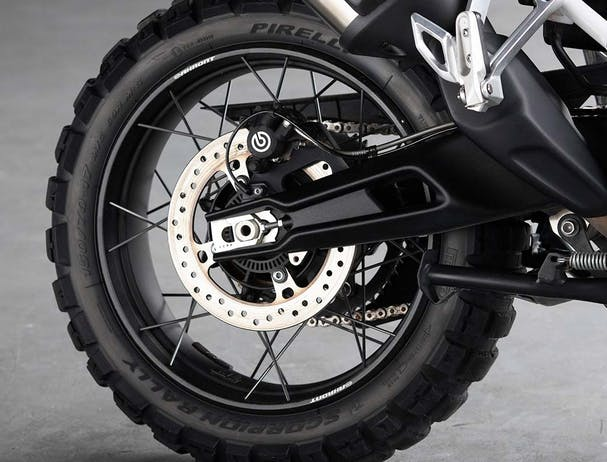 Tiger 900 Rally Pro tyres