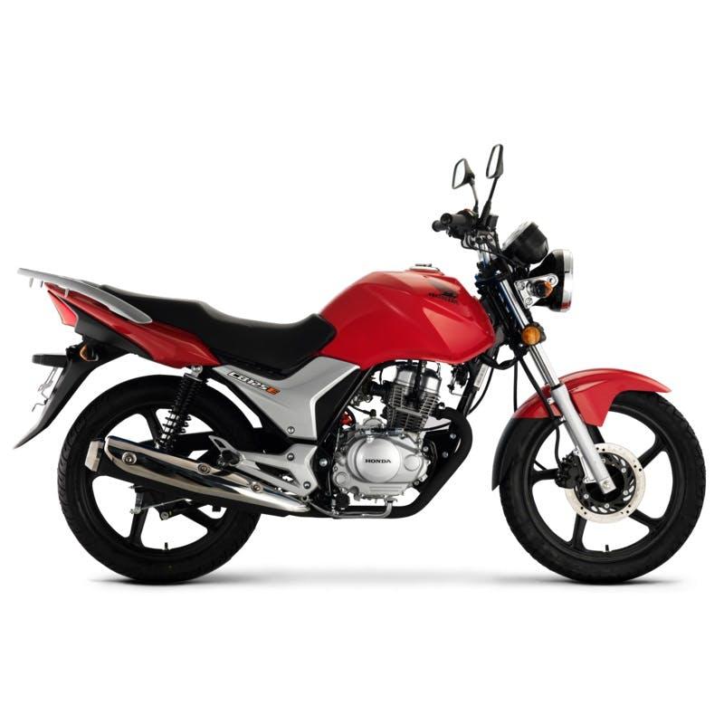 Honda CB125E in Pure Red colour