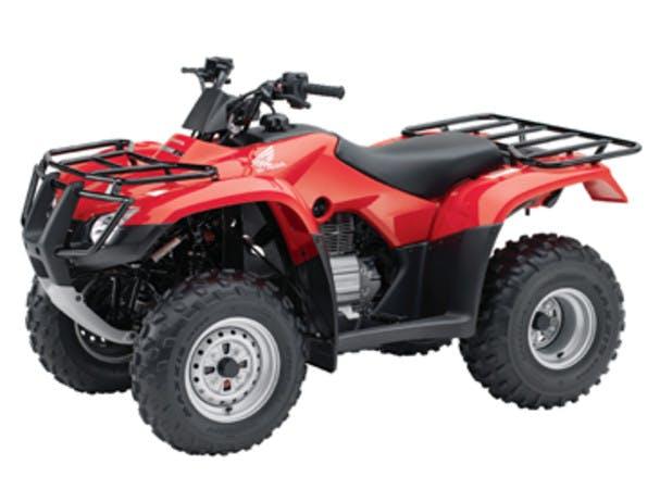 Honda TRX250TM suspension
