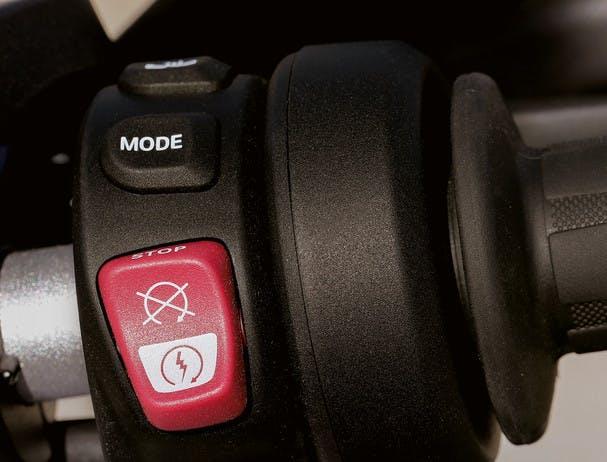 BMW F 750 GS TOUR riding mode switch
