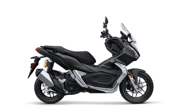 Honda ADV150 in Matte Black Metallic colour
