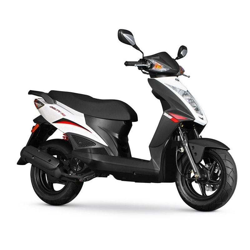 Kymco Agility RS 125 in white colour