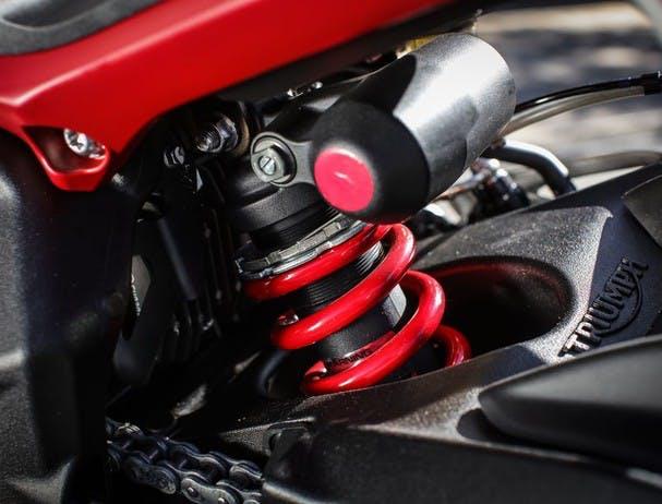 Triumph Street Triple R suspension
