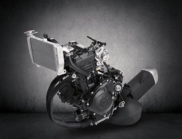 Yamaha YZF-R3 engine