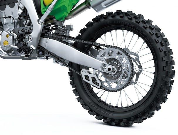 KawasakiI KX250 rear wheel