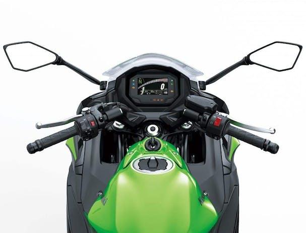Kawasaki Ninja 650L SE ergonomics