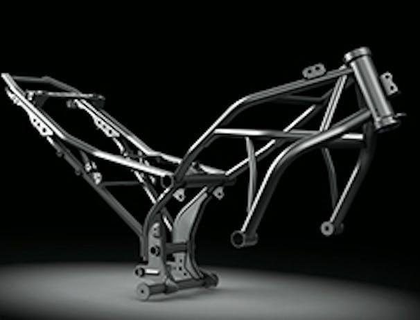 Kawasaki Ninja 650L SE frame