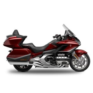 Honda Goldwing Tour Premium in Candy Ardent Red colour