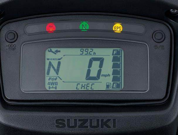 SUZUKI KINGQUAD 500AXI 4x4 PS instrument panel
