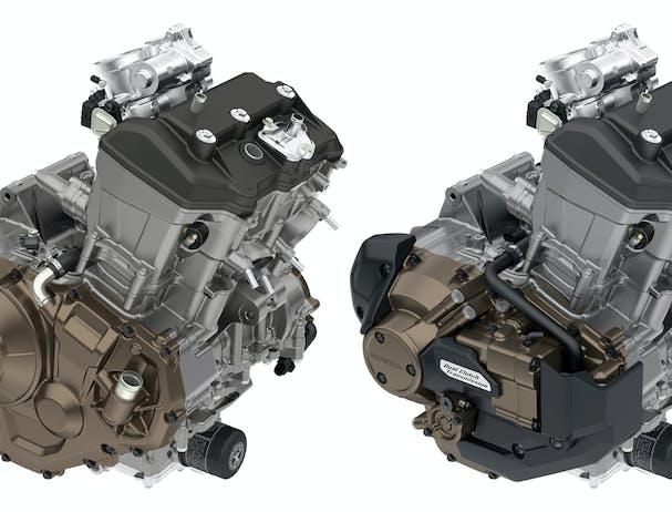 Honda Africa Twin engine