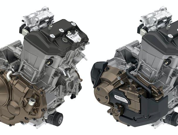Honda Africa Twin Adventure Sports engine