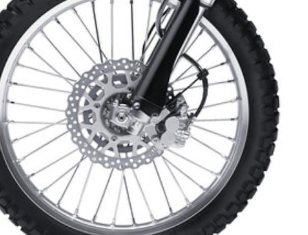 Kawasaki KLX250S brake
