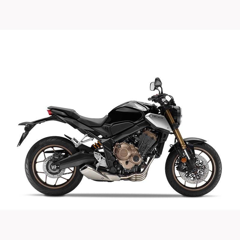 Honda CB650R in graphite black colour