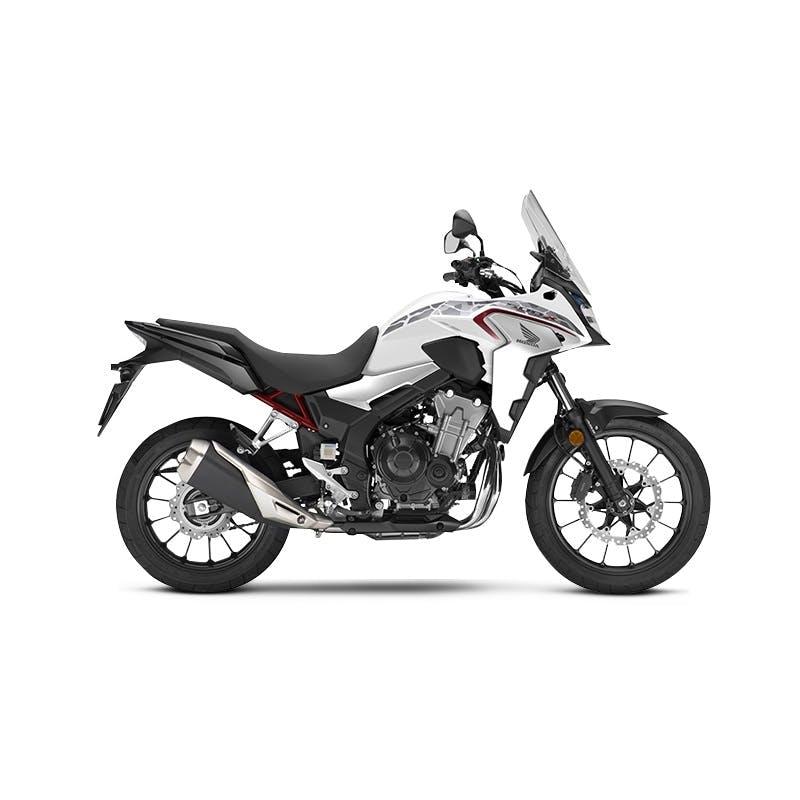 Honda CB500X in Pearl Metalloid White colour