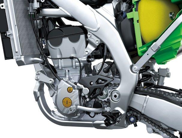Kawasaki KX250X engine
