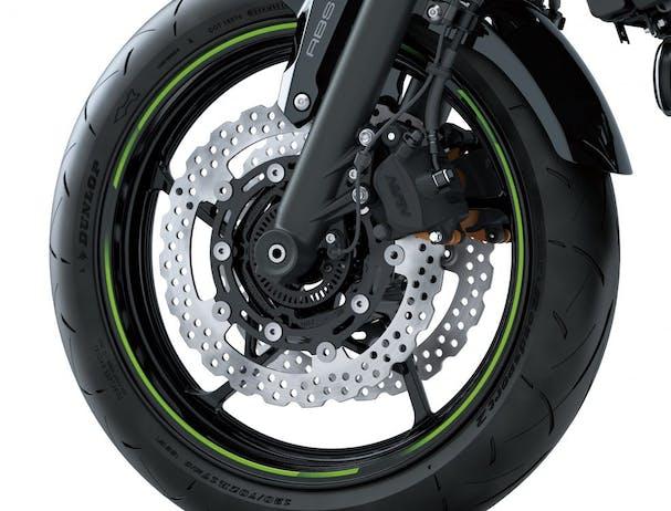 Kawasaki Z650L brakes
