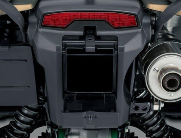 SUZUKI KINGQUAD 750AXI 4x4 PS rear storage compartment