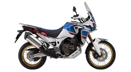 Honda 2018 africa twin adventure sports DCT in pearl glare white colour