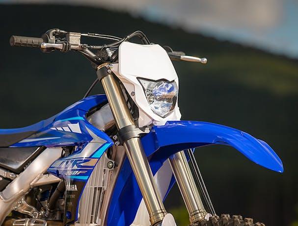 Yamaha WR250F suspension