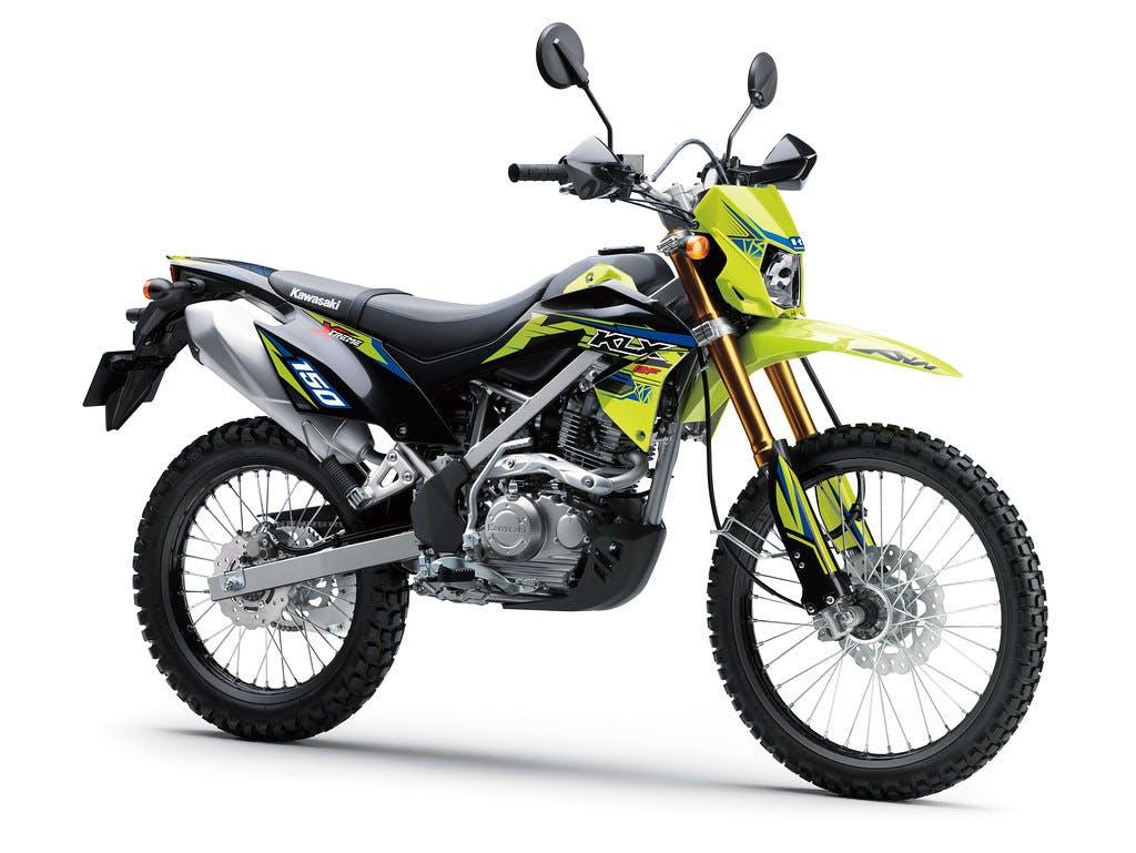 Kawasaki KLX150BF SE in Neon Green / Ebony colour