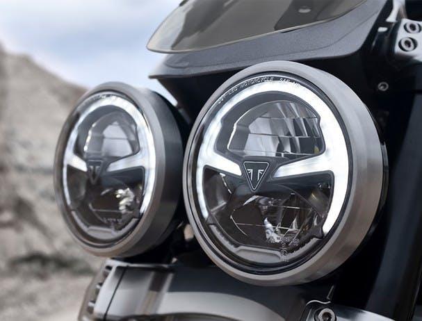 Triumph Rocket 3 GT headlight