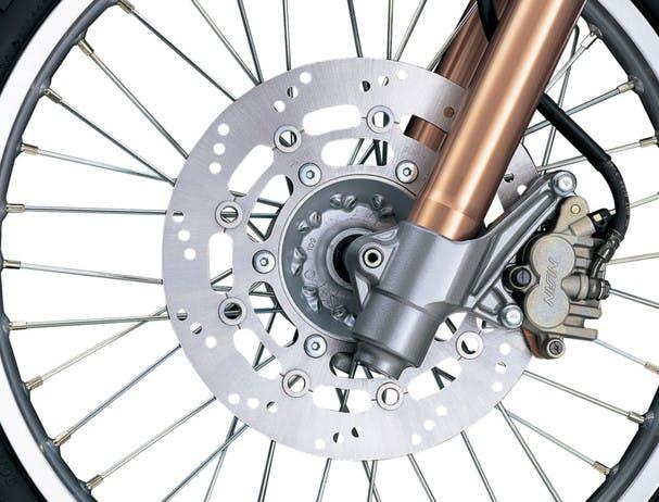 SUZUKI DR650SE front brake