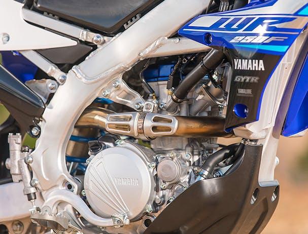 Yamaha WR250F engine