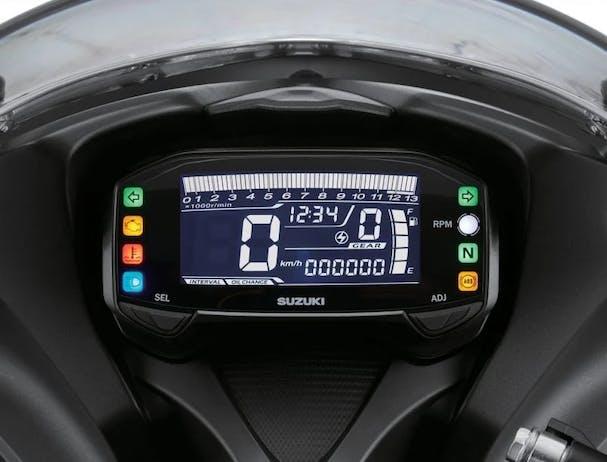 Suzuki GSX-S125 LCD instrument panel