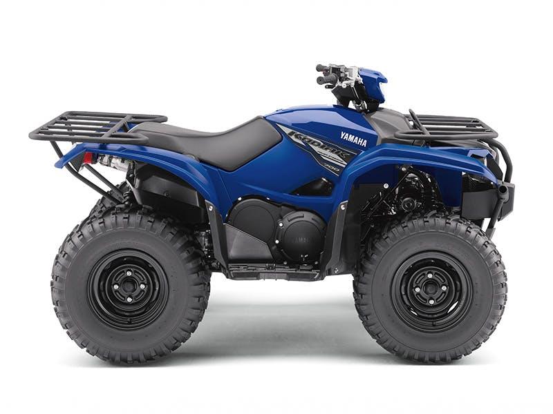 Yamaha Kodiak 700 EPS in steel blue colour