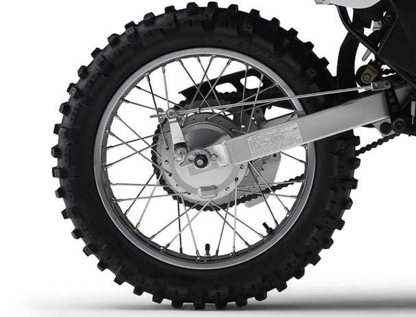 Yamaha TT-R125LWE diameter rear wheel