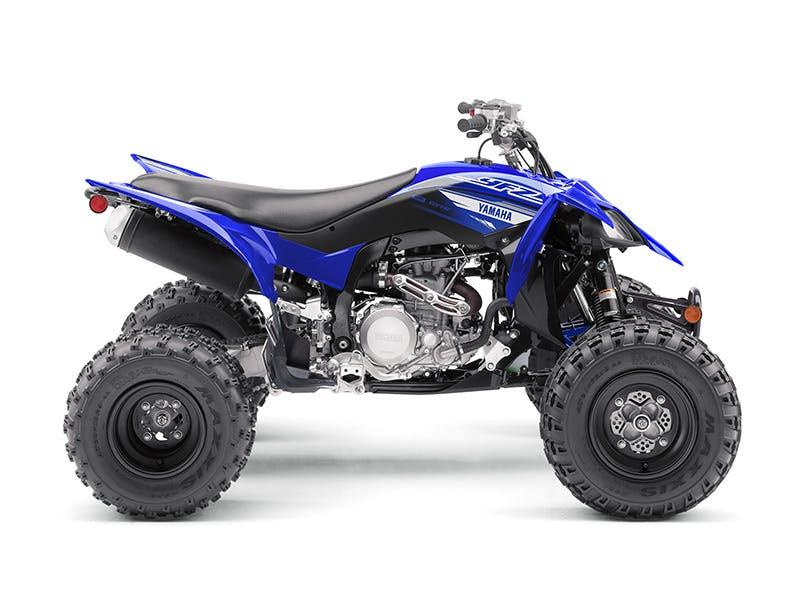Yamaha YFZ450R in team yamaha blue colour