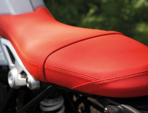 BMW R NINET URBAN G/S red seat