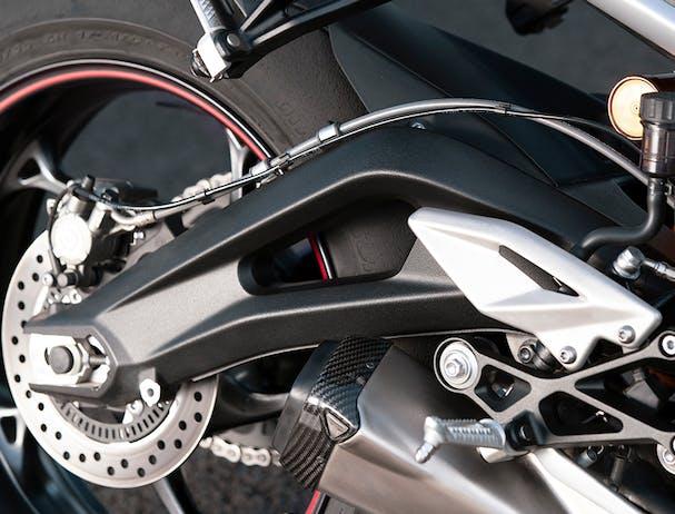 Triumph Street Triple RS swingarm