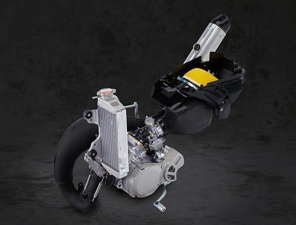 Yamaha YZ65 engine