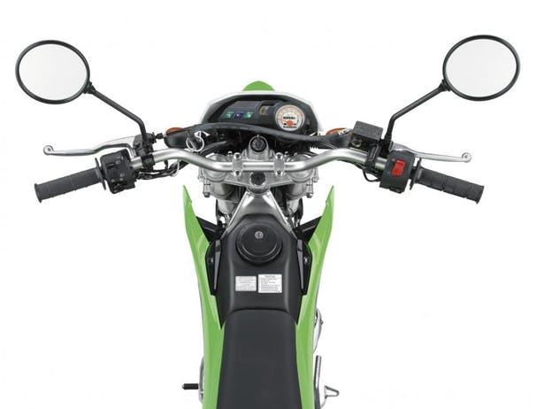 Kawasaki KLX150BF SE top shot