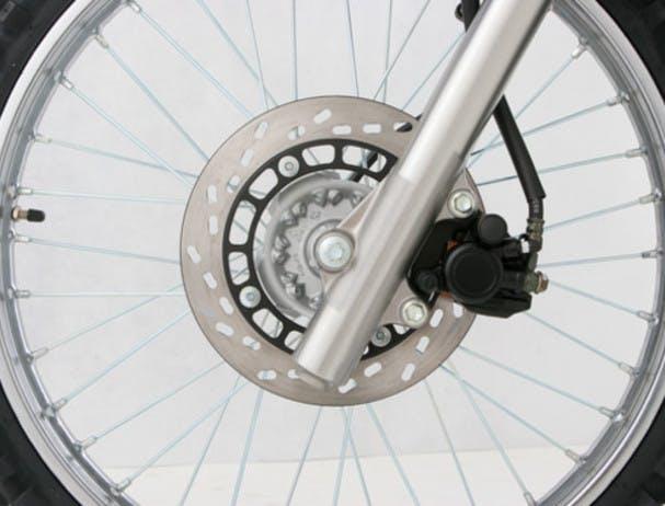 SUZUKI DR200S front brake