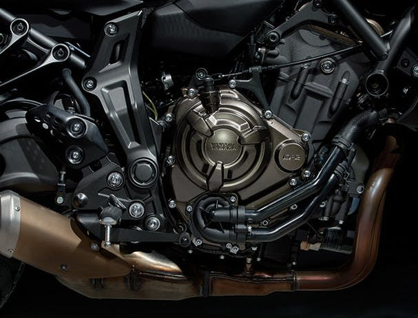 Yamaha MT-07 engine