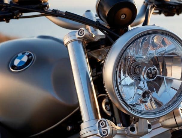 BMW R NINET SCRAMBLER round headlight