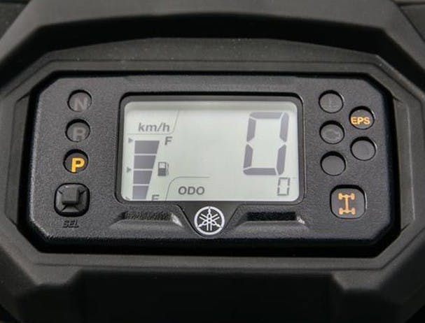 Yamaha Kodiak 450 LCD instrument panel