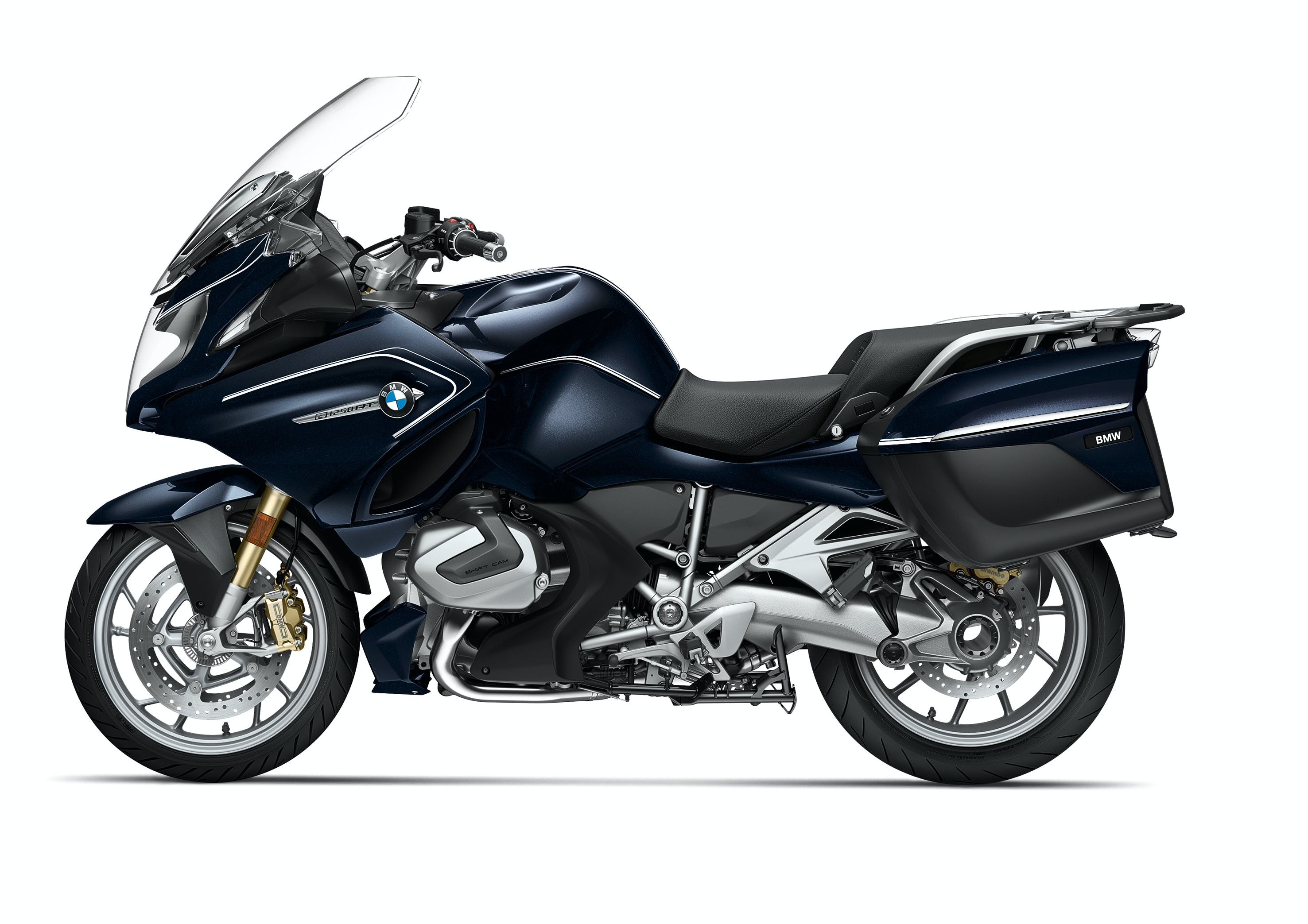 BMW R 1250 RT Option 719 in Blue Planet Metallic/Ivory colour