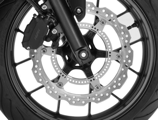 Honda CB500F disc brake
